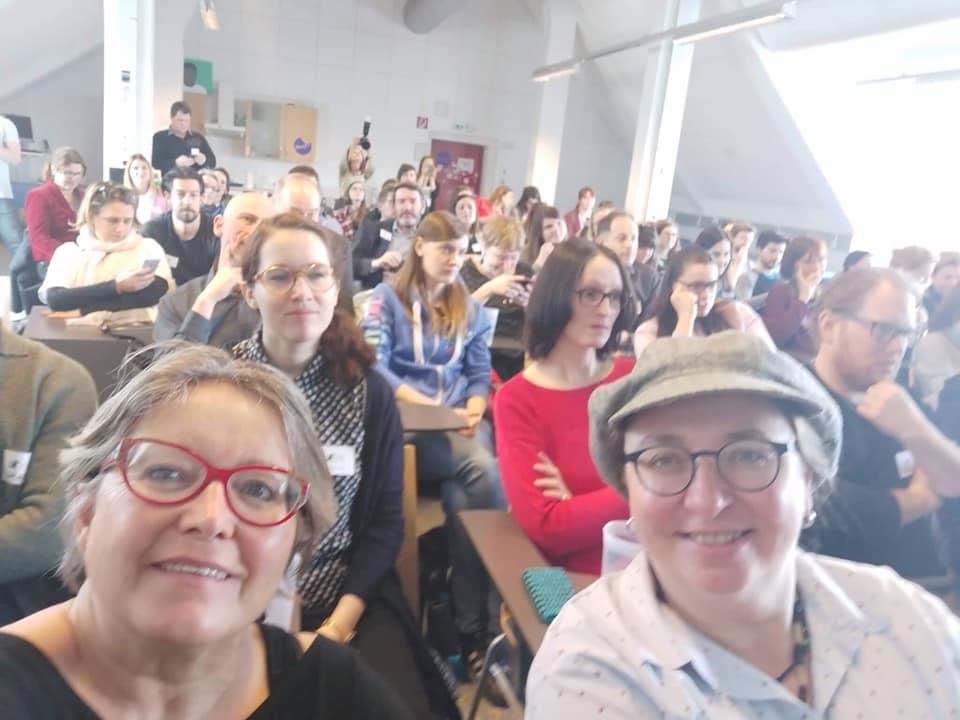 Teilnehmer des coscamp Content Strategy Barcamp in Graz an der FH Joanneum